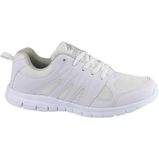 White - Side - Mirak Milos Lace Mens Sports Shoe - Mens Trainers