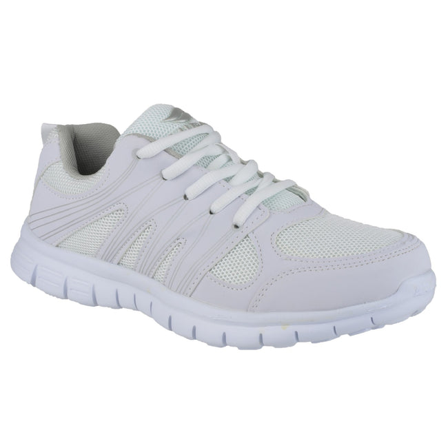 White - Front - Mirak Milos Lace Mens Sports Shoe - Mens Trainers