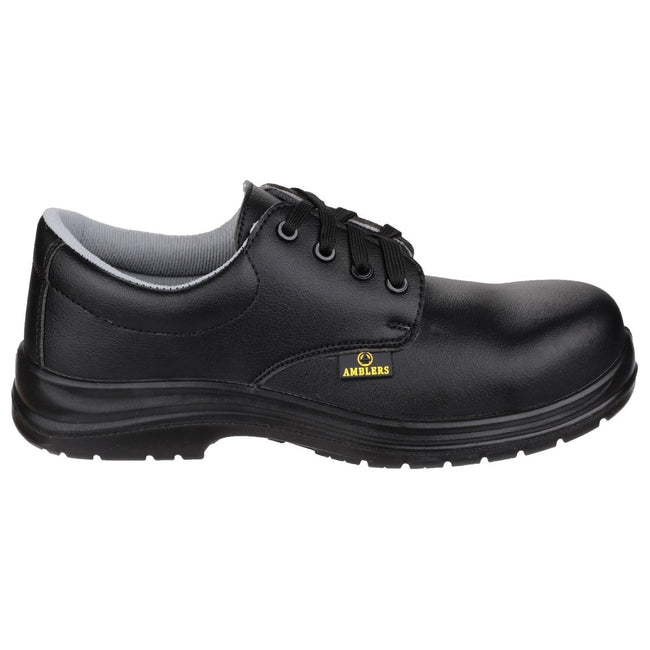 Black - Back - Amblers Safety FS662 Unisex Safety Lace Up Shoes
