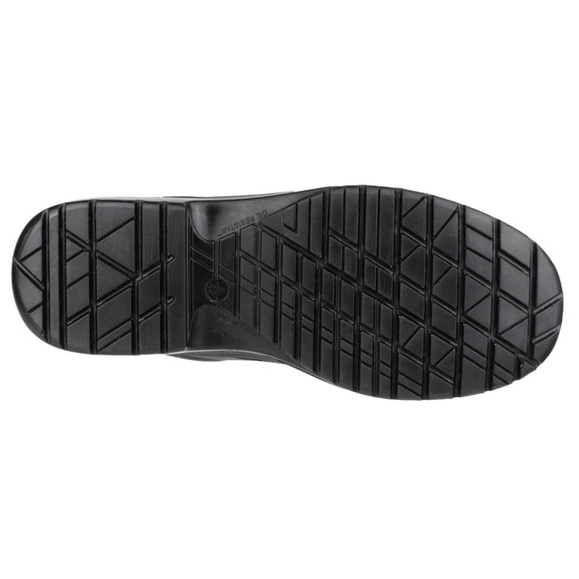 Black - Lifestyle - Amblers Safety FS662 Unisex Safety Lace Up Shoes