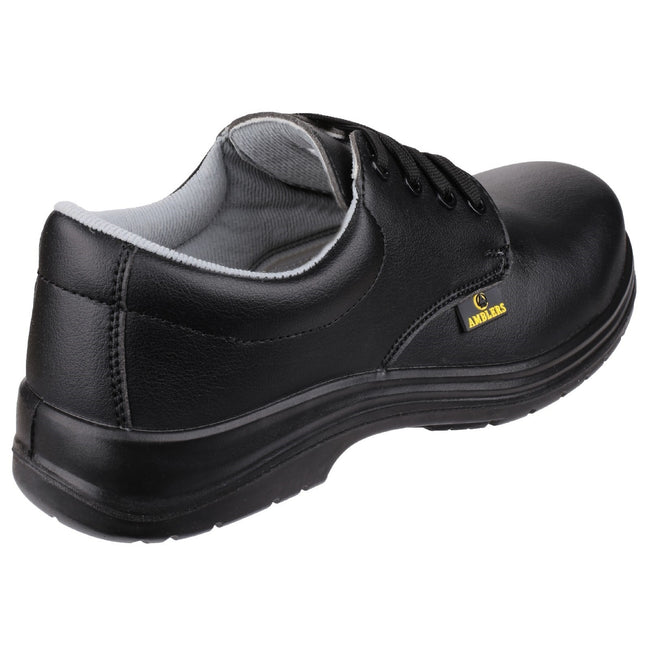 Black - Close up - Amblers Safety FS662 Unisex Safety Lace Up Shoes