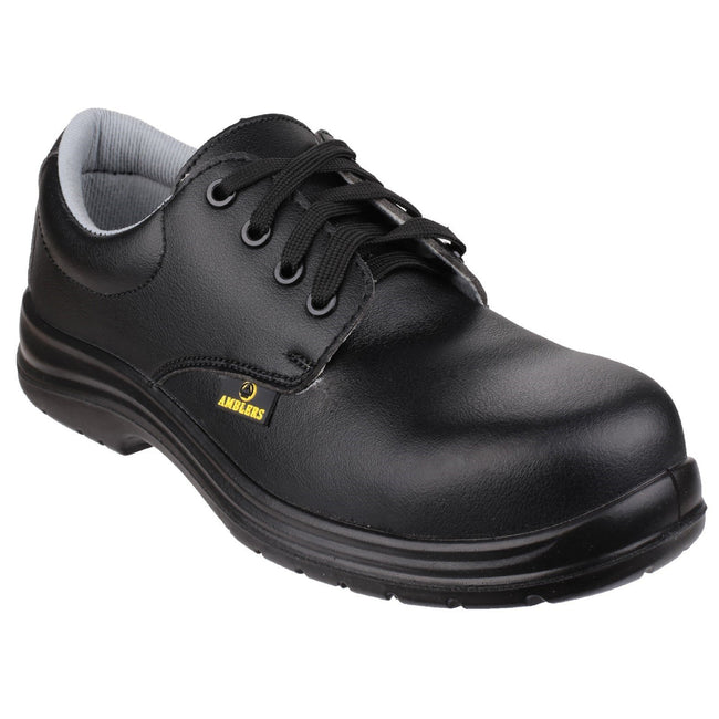 Black - Front - Amblers Safety FS662 Unisex Safety Lace Up Shoes