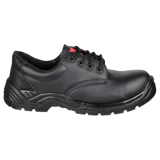 Black - Side - Centek Mens FS311C Composite S3 SRC Safety Shoes