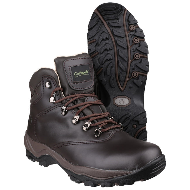 Brown - Lifestyle - Cotswold Adults Unisex Winstone Walking Boots