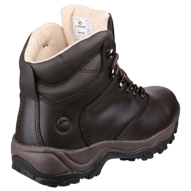 Brown - Pack Shot - Cotswold Adults Unisex Winstone Walking Boots