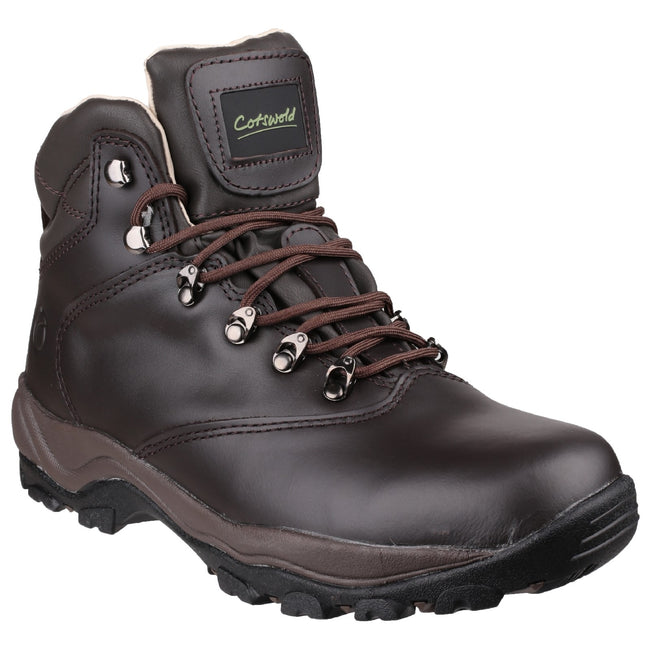 Brown - Front - Cotswold Adults Unisex Winstone Walking Boots