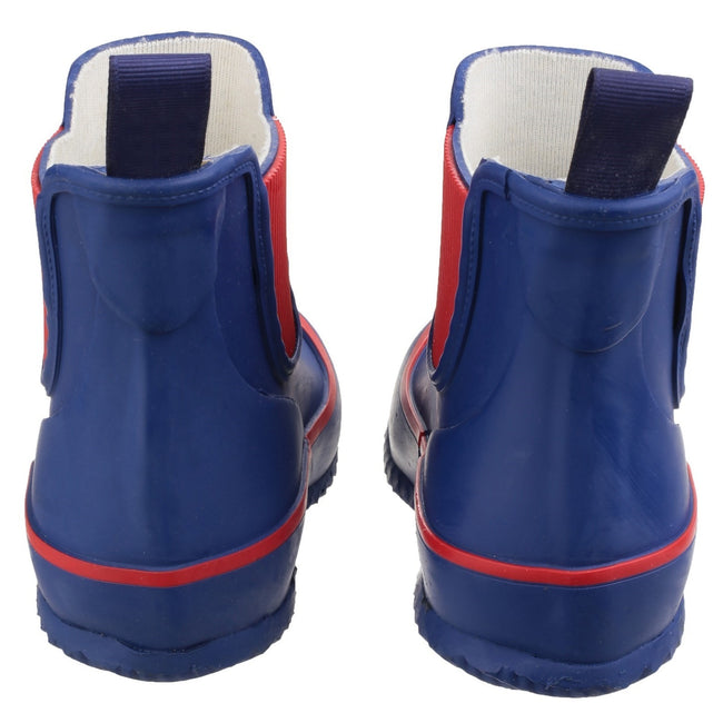 Blue - Lifestyle - Cotswold Childrens-Kids Bushy Wellington Boots
