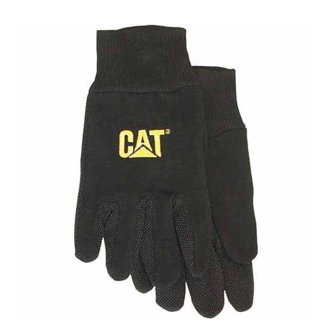 Black - Back - Caterpillar 15400 Heavy Duty Workwear Gloves