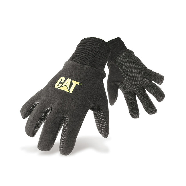 Black - Front - Caterpillar 15400 Heavy Duty Workwear Gloves