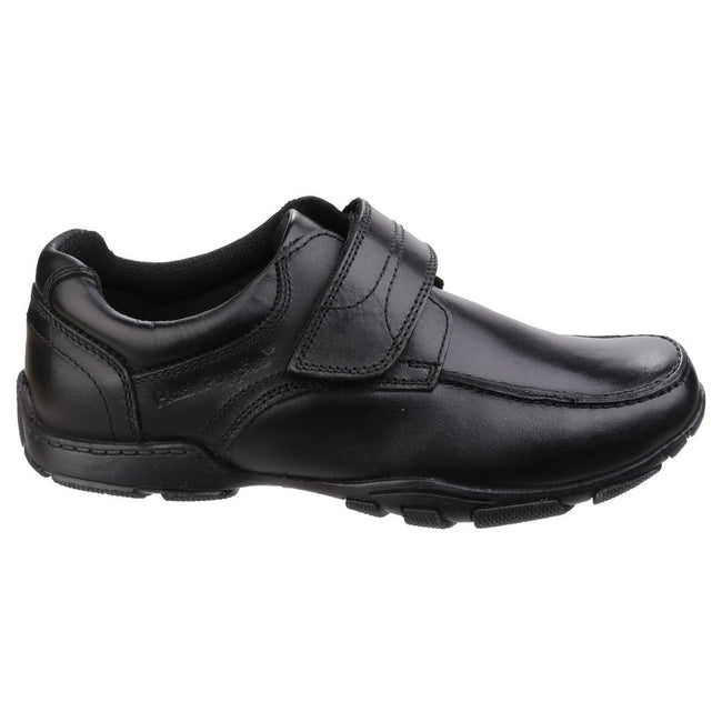 Black - Back - Hush Puppies Childrens Boys Freddy 2 Back To School Shoes