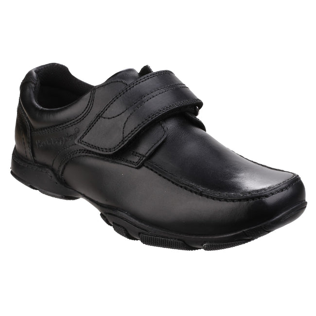 Black - Front - Hush Puppies Childrens Boys Freddy 2 Back To School Shoes