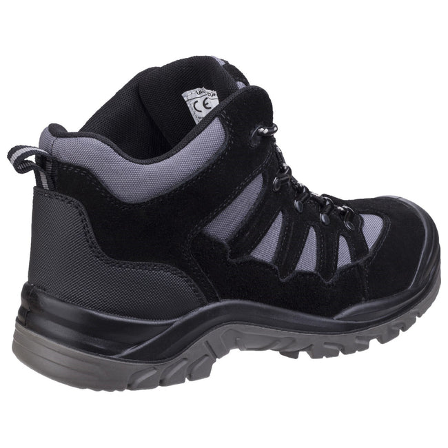 Black - Back - Amblers Safety AS251 Mens Lightweight Safety Hiker Boots