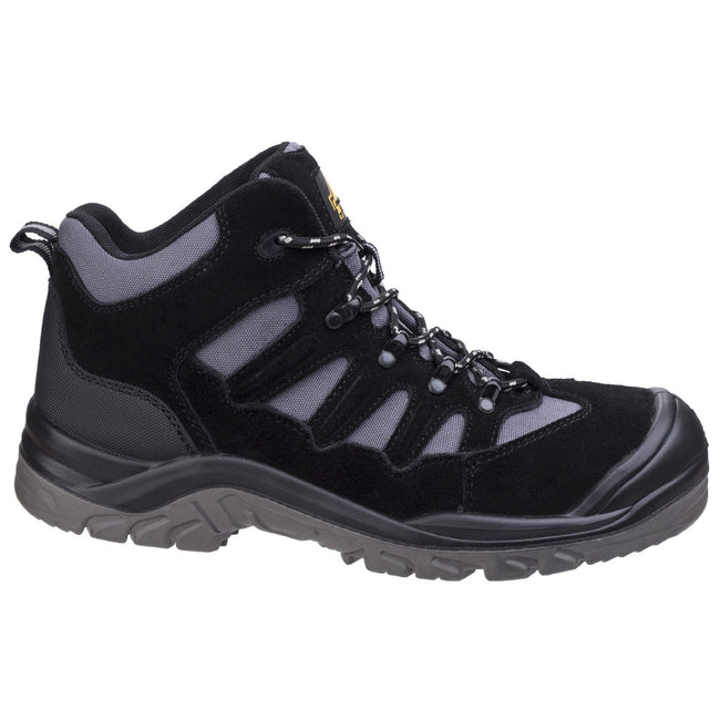 Black - Pack Shot - Amblers Safety AS251 Mens Lightweight Safety Hiker Boots