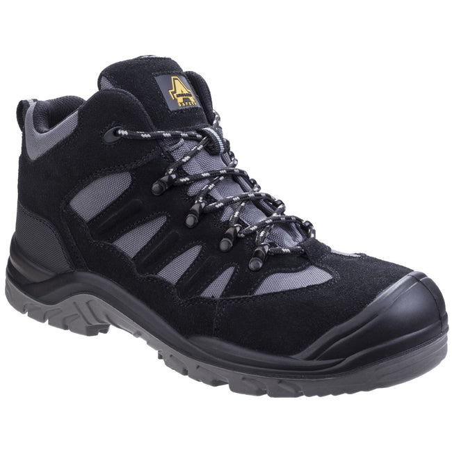 Black - Close up - Amblers Safety AS251 Mens Lightweight Safety Hiker Boots