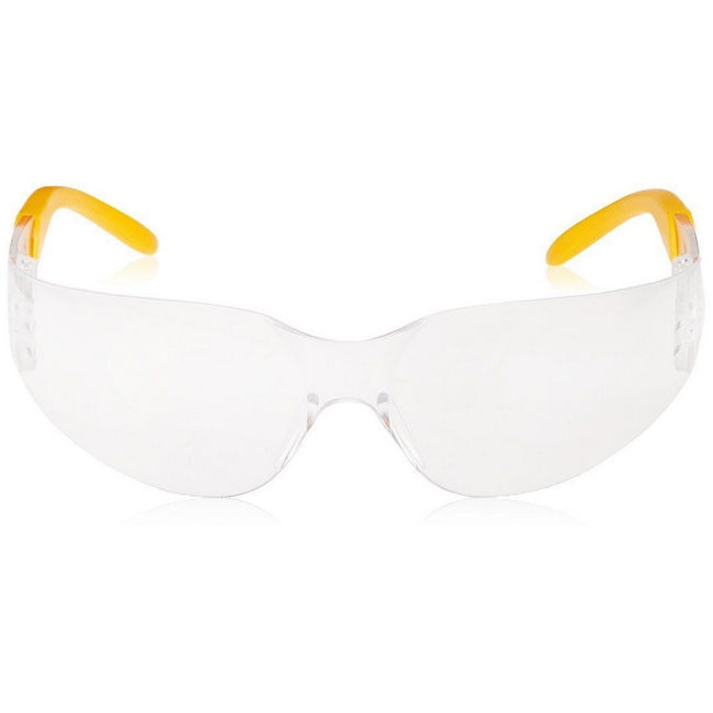 Charcoal-Yellow - Front - DeWalt Unisex Protector Safety Eyewear