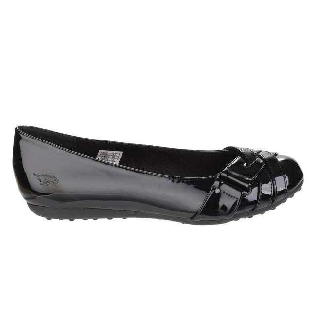 Black - Back - Rocket Dog Womens-Ladies Rebel Slip On Ballerina Shoes