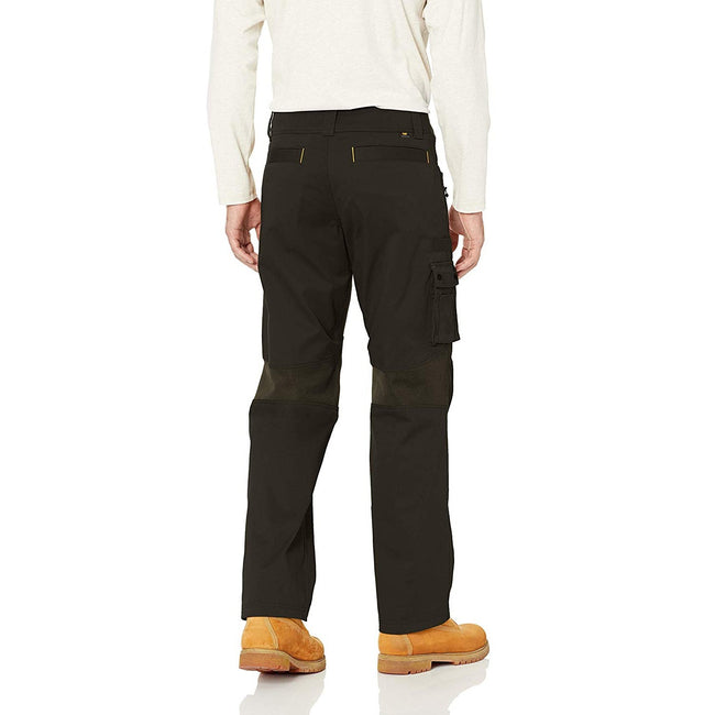 Black - Back - Caterpillar Mens Operator FX Work Trousers