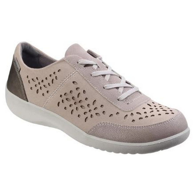 Metal - Front - Rockport Womens-Ladies Emalyn Lace Up Trainer