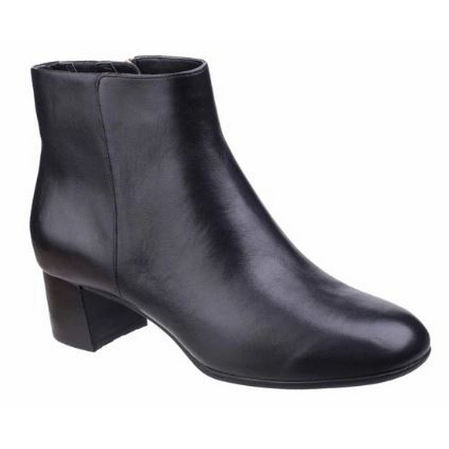 Black - Front - Rockport Womens-Ladies Total Motion Novalie Leather Ankle Boot