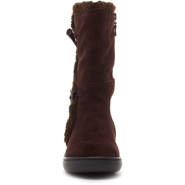 Chocolate Brown - Lifestyle - Rocket Dog Womens-Ladies Slope Mid Calf Winter Boot
