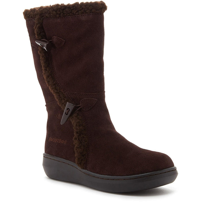 Chocolate Brown - Front - Rocket Dog Womens-Ladies Slope Mid Calf Winter Boot