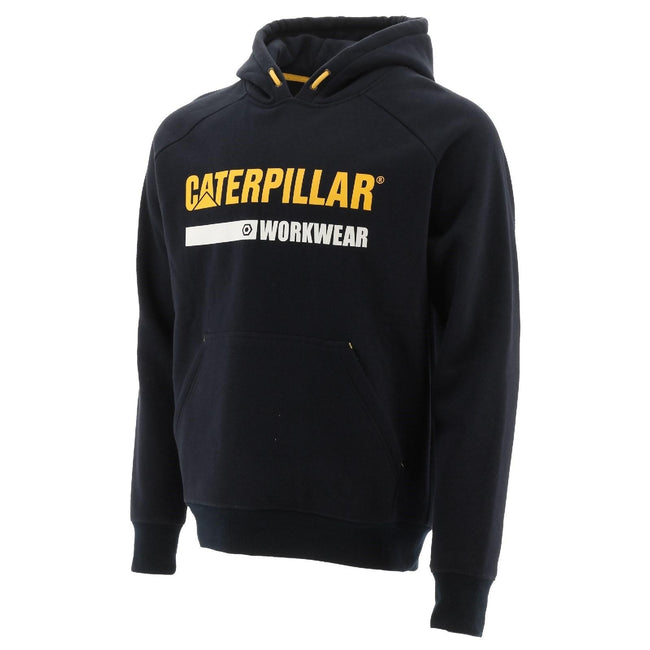 Black - Front - Caterpillar Essentials Unisex Hoodie