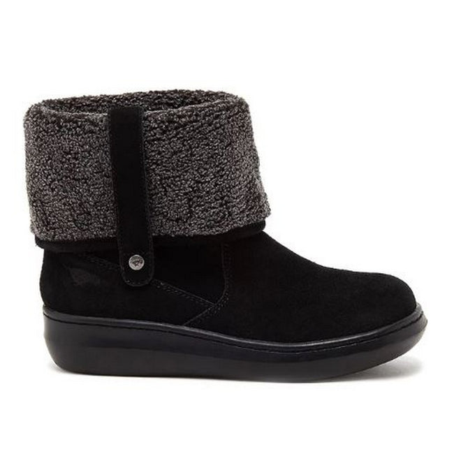 Black - Side - Rocket Dog Womens-Ladies Sugar Mint Suede Ankle Winter Boot