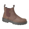 Brown - Front - Amblers Steel FS128 Boot - Womens Ladies Boots