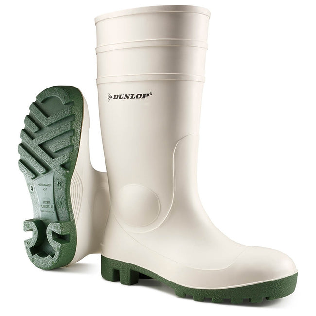 White - Lifestyle - Dunlop FS1800-171BV Wellington - Womens Boots - Safety Wellingtons