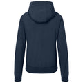 Navy-Navy - Back - James and Nicholson Womens-Ladies Hooded Softshell Jacket
