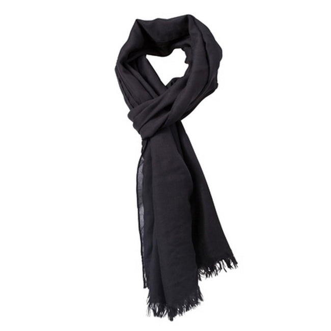 Black - Front - Myrtle Beach Adults Unisex Summer Breeze Scarf