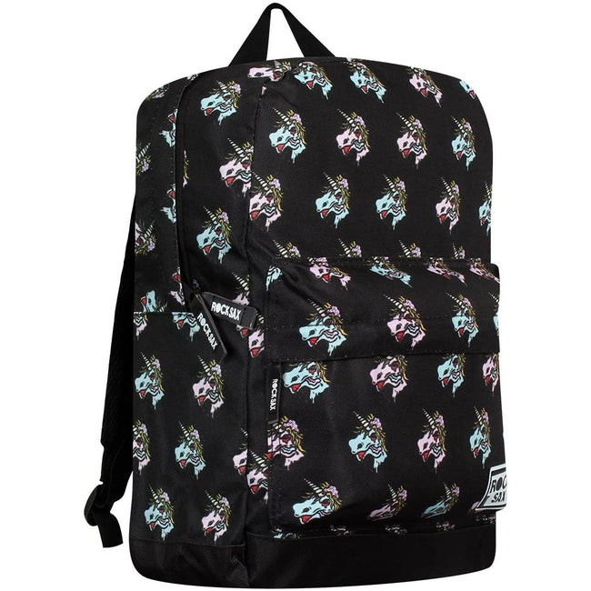 Black - Side - RockSax Unicorn Backpack
