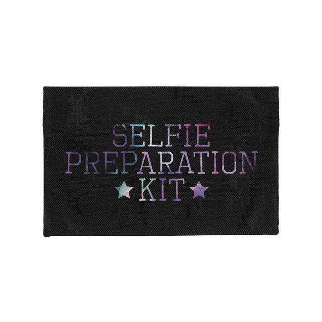 Black - Front - Grindstore Selfie Preparation Kit Make Up Bag
