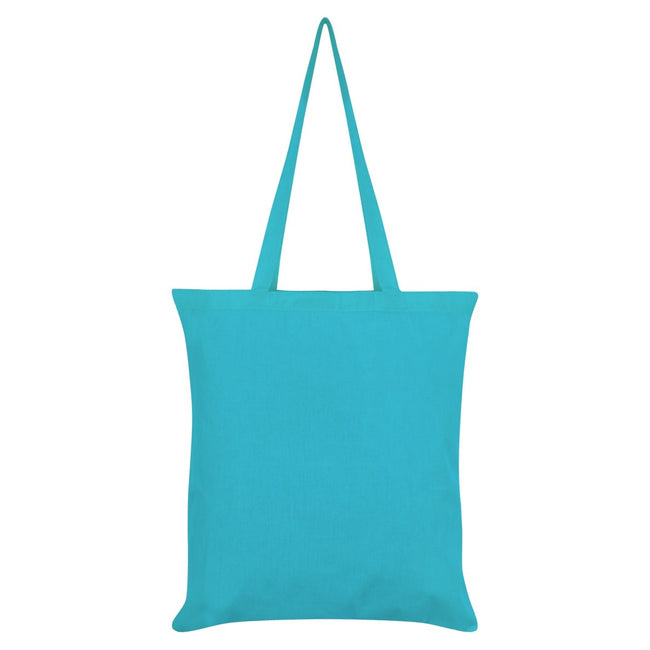 Blue - Back - Grindstore Be Kind To Our Oceans Tote Bag