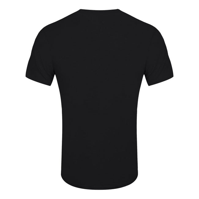 Black - Back - Grindstore Mens Circle Game T-Shirt