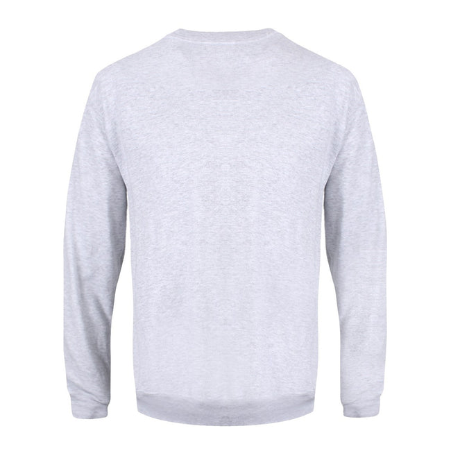 Grey - Back - Grindstore Mens All I Want For Christmas Is Ru Christmas Jumper