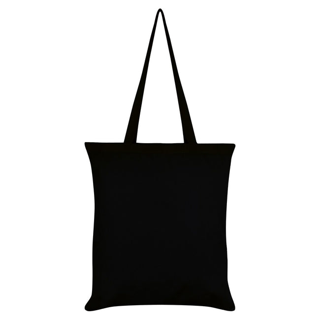 Black-Orange - Back - Mio Moon I May Be Dead But Im Still Pretty Tote Bag