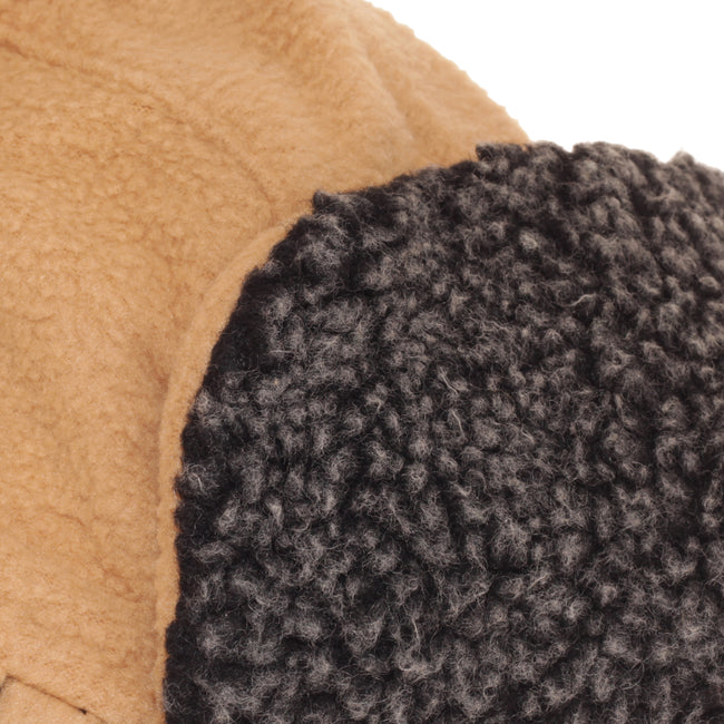 Light Camel - Lifestyle - EX-STORES Unisex Mens-Womens Fleece Trapper Hat, Ski Hat