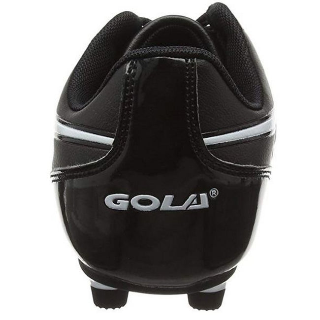 Black-White - Back - Gola Mens Rey MLD Football Boots
