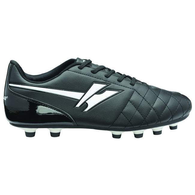 Black-White - Front - Gola Mens Rey MLD Football Boots