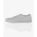Grey - Lifestyle - Krisp Womens-Ladies Plain Low Top Trainers