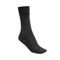 Black - Front - Silky Womens-Ladies Health Diabetic Sock (1 Pair)