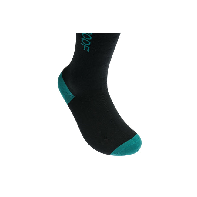 Sea Green - Side - Dexshell Unisex Waterproof Wading Socks (1 Pair)