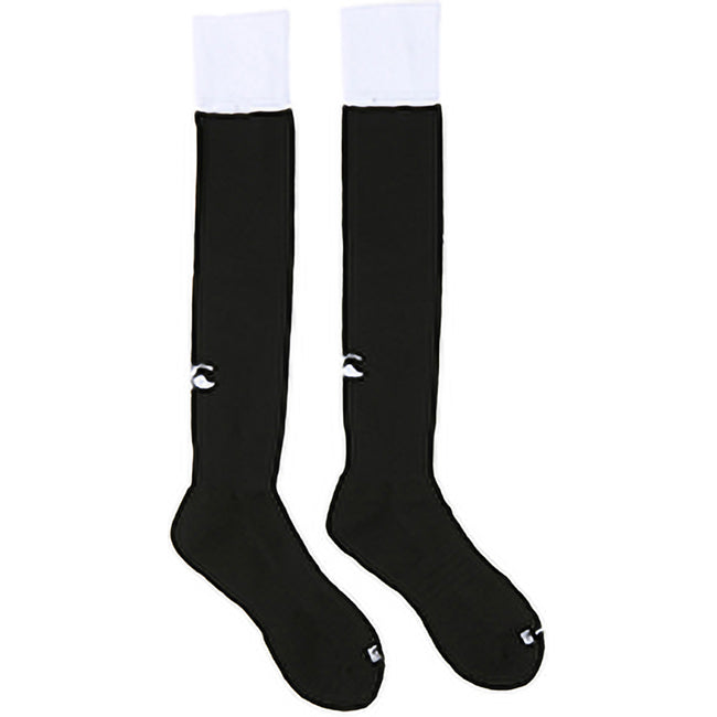 Black-White - Back - Canterbury Mens Playing Cap Rugby Sport Socks