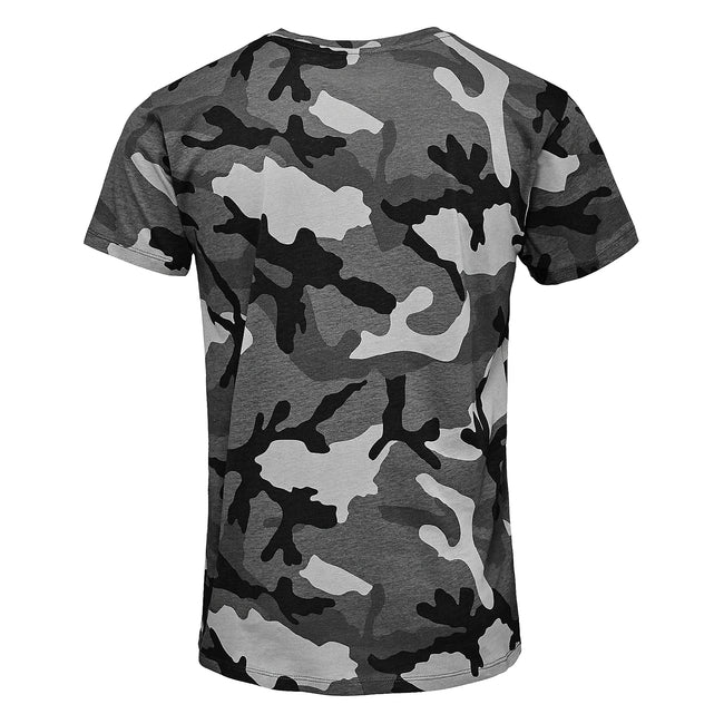 Camouflage - Back - SOLS Mens Camo Short Sleeve T-Shirt
