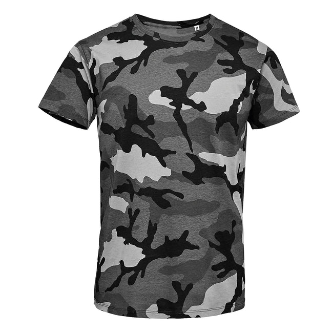 Camouflage - Front - SOLS Mens Camo Short Sleeve T-Shirt