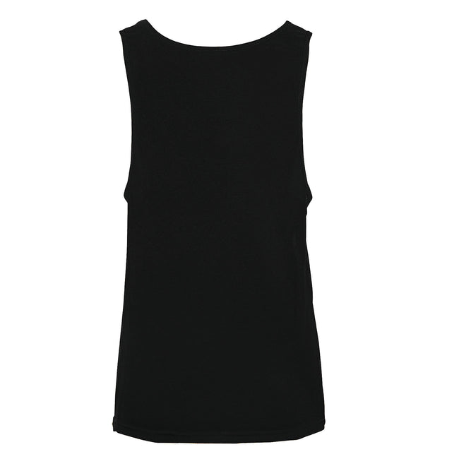 White - Back - SOLS Unisex Jamaica Sleeveless Tank - Vest Top