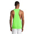 Neon Orange - Side - SOLS Unisex Jamaica Sleeveless Tank - Vest Top