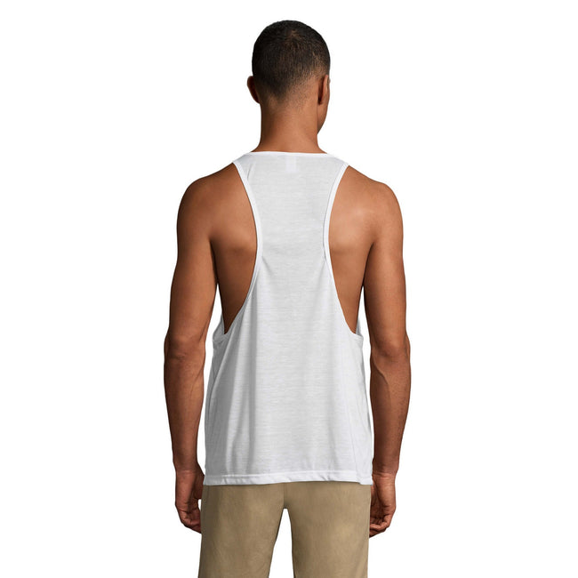 Neon Green - Lifestyle - SOLS Unisex Jamaica Sleeveless Tank - Vest Top