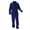 Navy - Front - Warrior Mens Stud Front Coverall